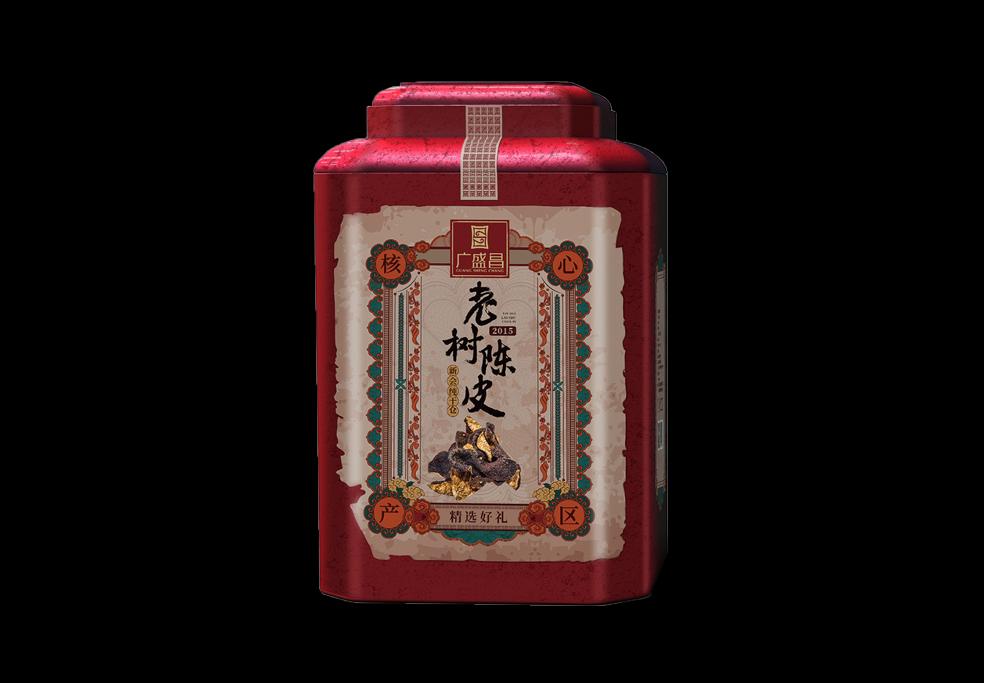 2015年天马老树陈皮(圈枝)