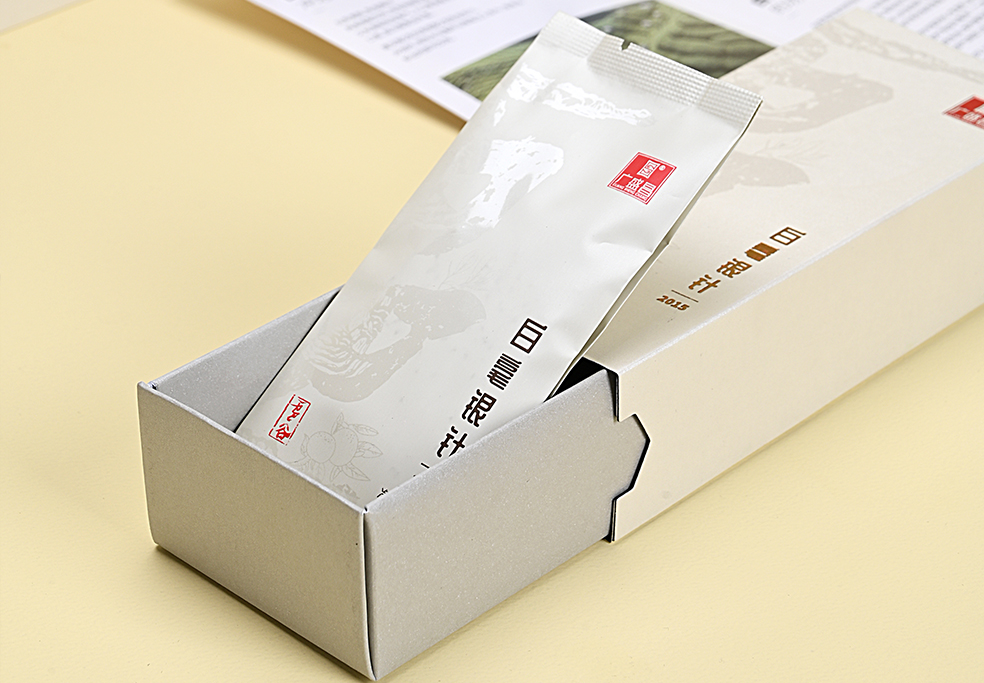 雪谷 2015 年老树银针+二十年新会陈皮