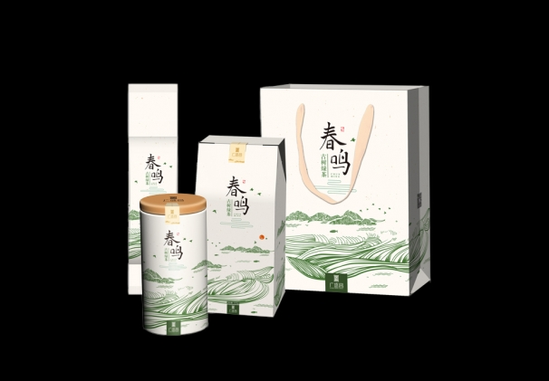 2019年春鸣古树绿茶